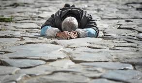 Humility Prostrate Pilgrim Image