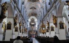 Inside Church Prayer Image
