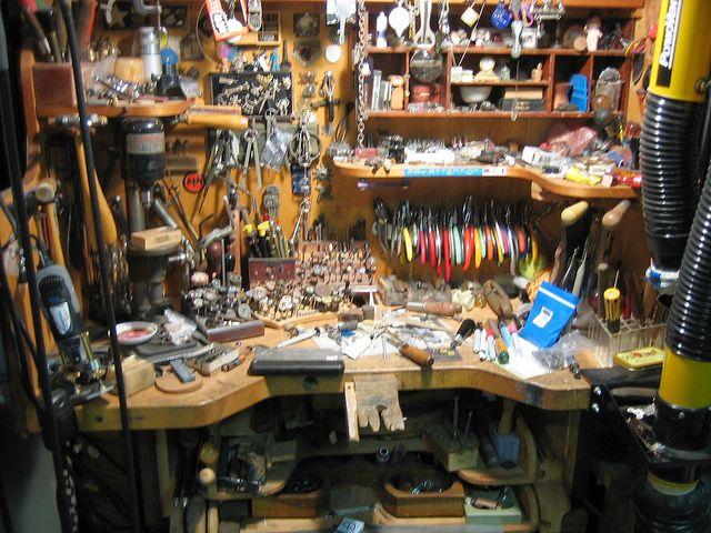 Messy Workbench Image