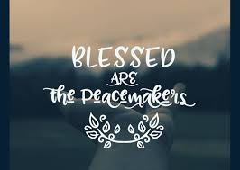 Blessed are the Peacemakers Image